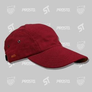 czapka fat cap prosto wear bordowy / brazowy