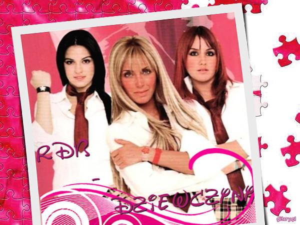 Przyjaźń z byłymi członkiniami RBD