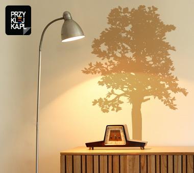 Naklejka na ścianę - Drzewo  .