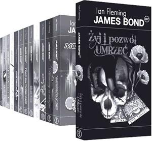 Ian Fleming: James Bond – złota kolekcja książek na 100 lecie urodzin autora