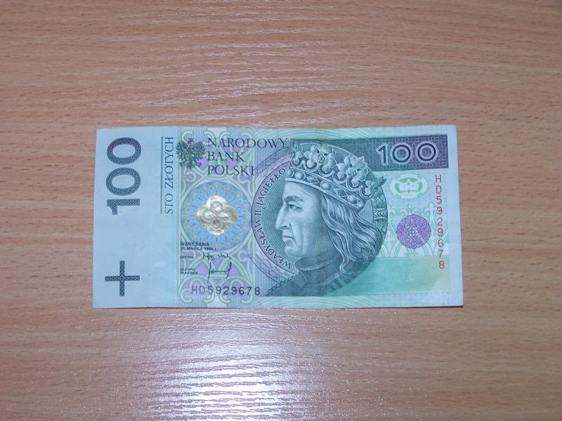 Banknot 100-złotowy