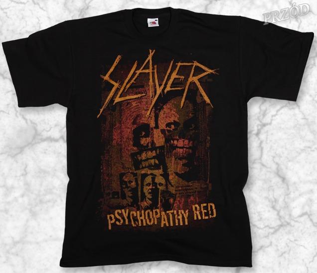 koszulka SLAYER - PSYCHOPATHY RED