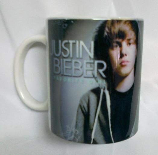 Kubek z Justinem Bieber