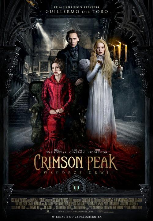 Crimson Peak. Wzgórze Krwi DVD