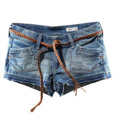 Szorty dżinsowe H&M