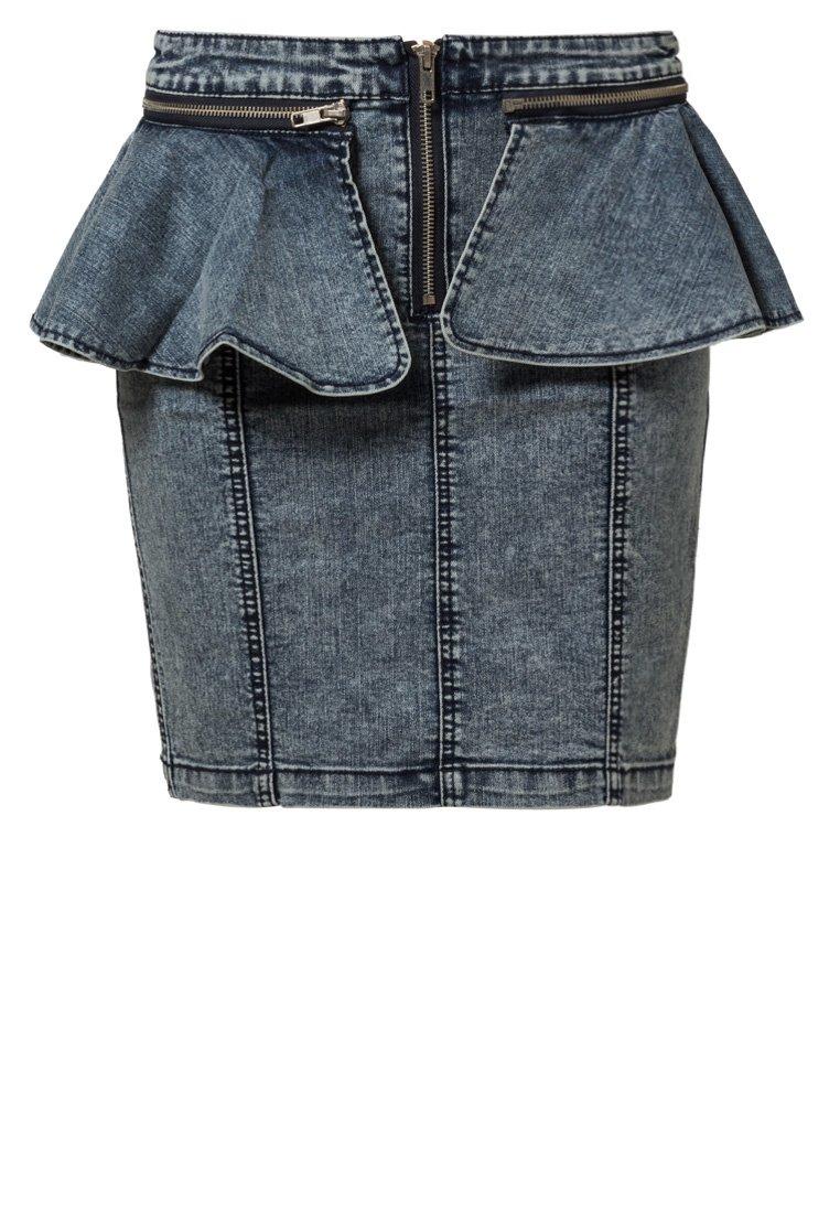genialna jeansowa spódniczka