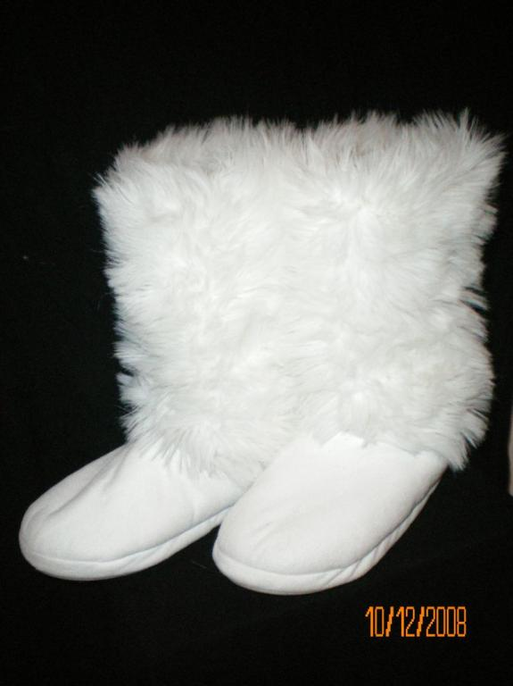 Śliczne białe bucki zimnowe