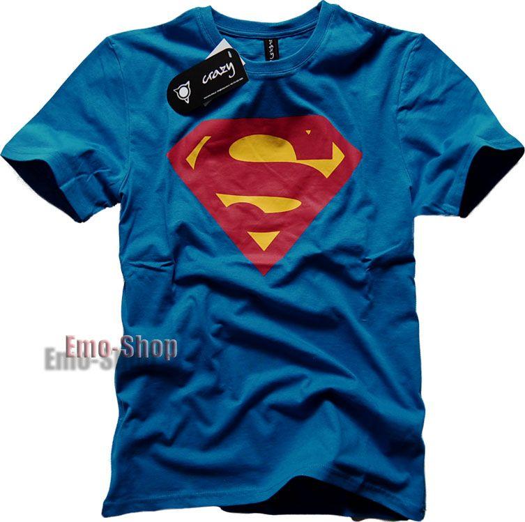 SuperMan koszula L