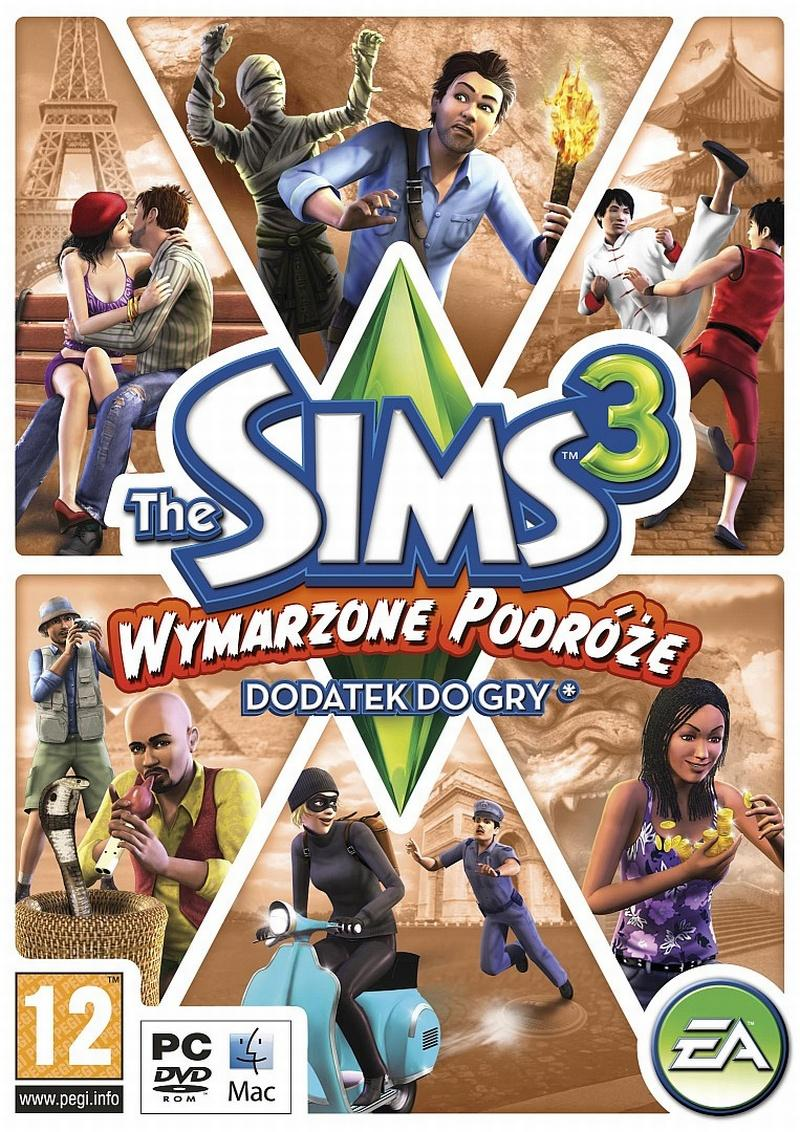 the sims3 wymarzone podróże
