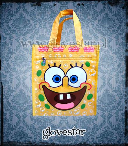 Torba Spongebob buźka ;D