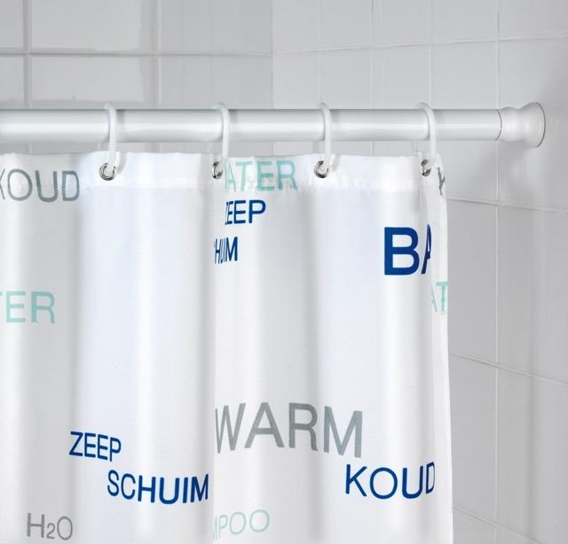 drążek do zasłony prysznicowej