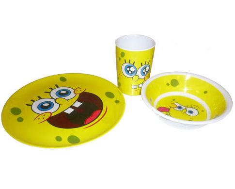 Komplet ze SpongeBobem