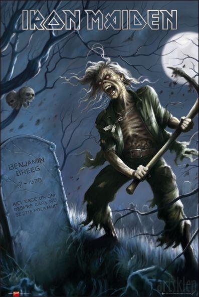 Plakat Iron Maiden!