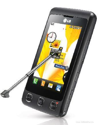 LG KP500 z dotykowym ekranem