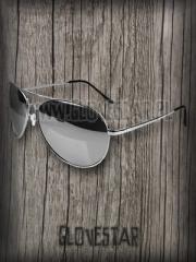 Okulary aviator lusterka