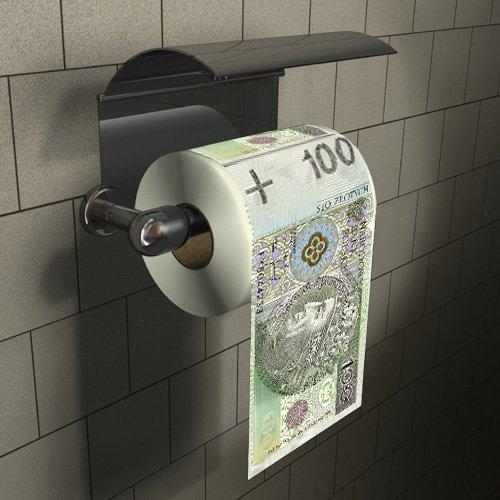 Papier toaletowy 100zł