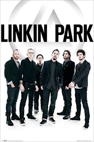 Linkin Park zespół - plakat