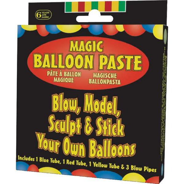 Magiczna pasta balonowa