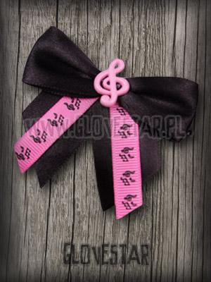 Kokarda Music różowa