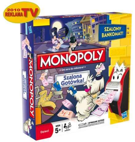 Gra Monopoly - Szlona Gotówka