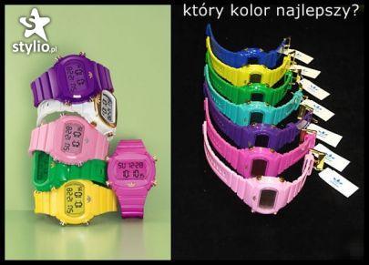 Zegarki różnej maści we wszelkich kolorach tęczy < 3