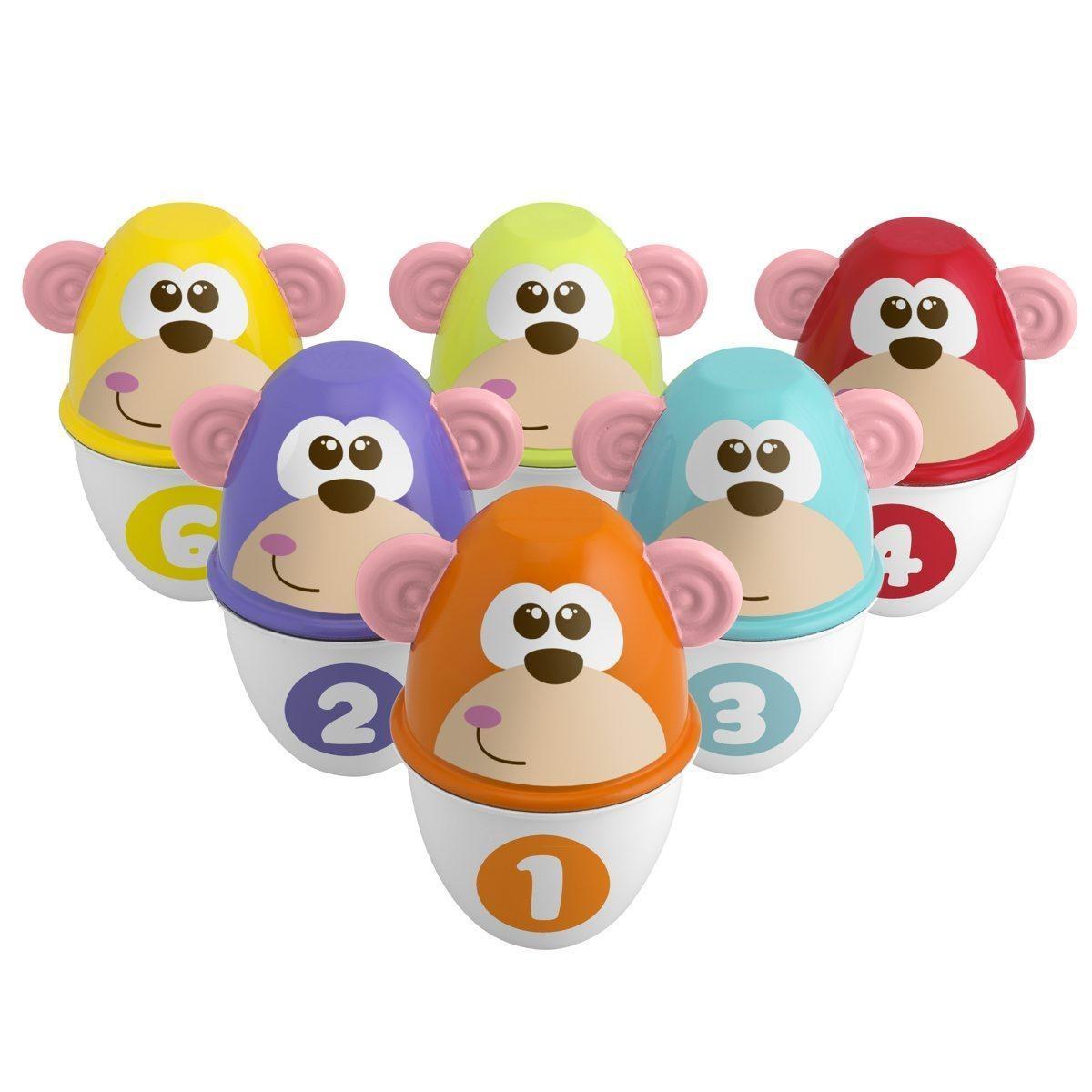 Kolorowe kręgle dla dzieci