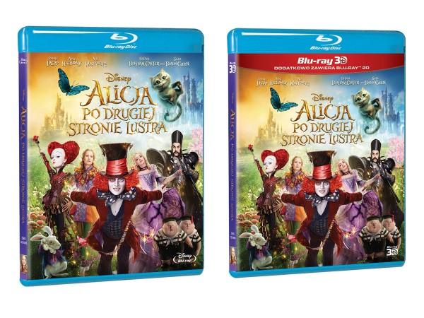 Alicja po drugiej stronie lustra 3D Bluray