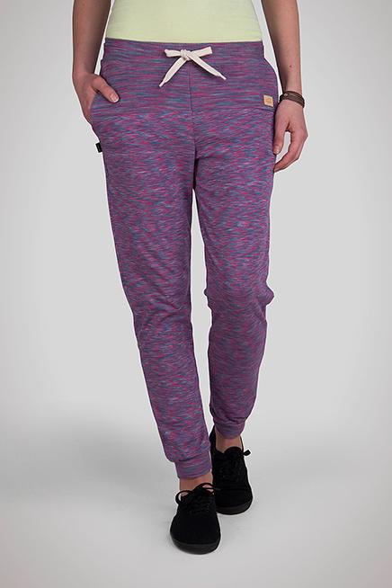 Spodnie płomyk fioletowo-różowe