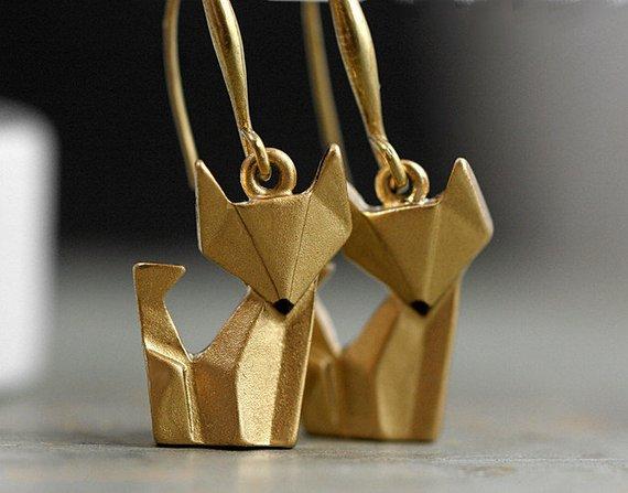 Kolekcja lisia kolczyki/ bransoletka/ pierścionek