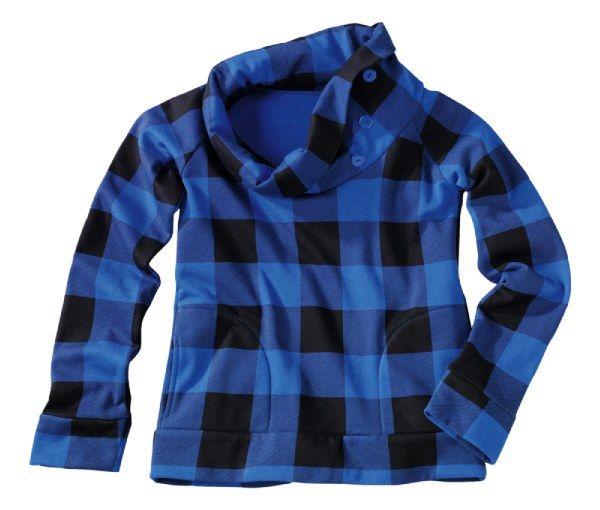 Bluza w kratę