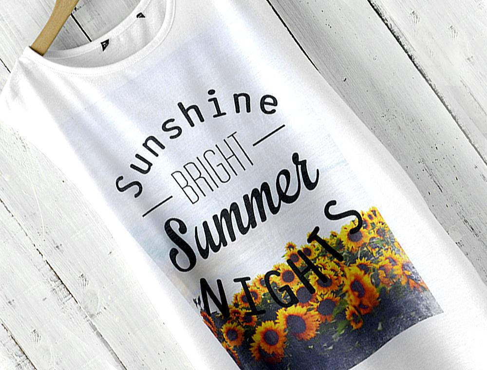 Koszulka słoneczniki