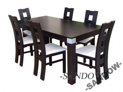 NOWOŚĆ !!! tanie NOWE i ładne KRZESŁA + stół