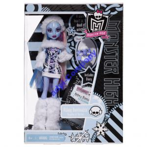 monster high  lalka Abbey