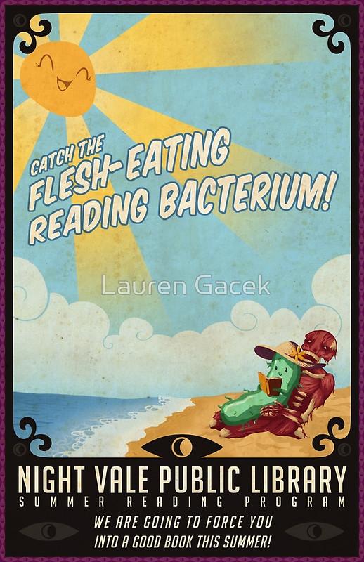 FLESH EATING READING BACTERIUM