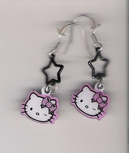 Hello Kitty kolczyki, clarie's