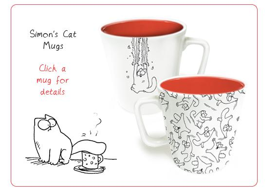 Simon's Cat Mugs