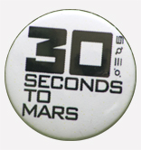 Przypinka 30 seconds to Mars
