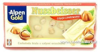 Nussbeisser czekolada biała