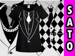 Koszulka z nadrukiem garnituru