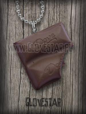 Wisiorek czekolada