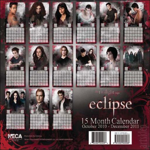 Kalendarz Eclipse ;d