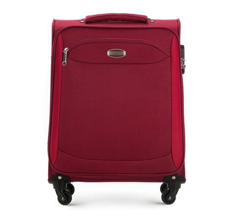 Czerwona walizka na kółkach 17''
