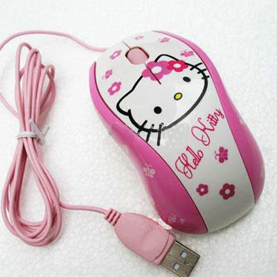 myszka do komputera z Hello Kitty