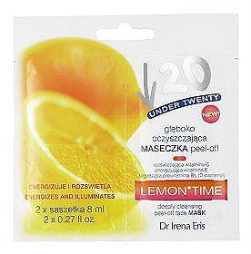 Głęboko oczyszczająca maseczka peel-off. Lemon-time