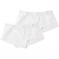 Zaccini Uni 2-pack lady boxers white