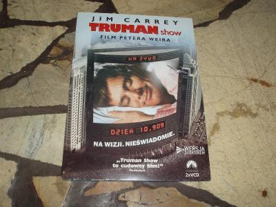 TRUMAN SHOW - Jim Carrey  2xVCD