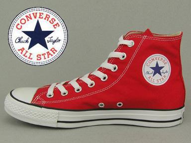 Trampki Converse czerwone M9621 r. 37