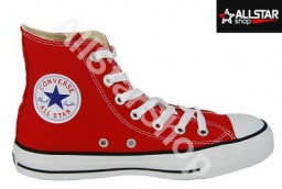 Czerwone trampki Converse ALL STAR