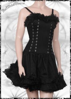 Sukienka gothic czarna