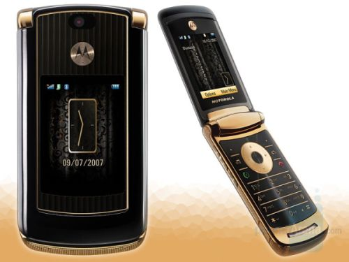 Motorola V8 Rzr2 Luxury Edition